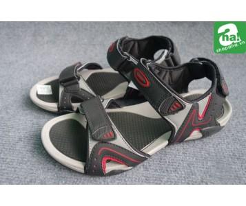 Sandal Big Size Vento Đen Đỏ LT16