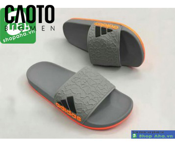 Dép Quai Ngang Ngoại Cỡ Adidas Hardy Xám Cam