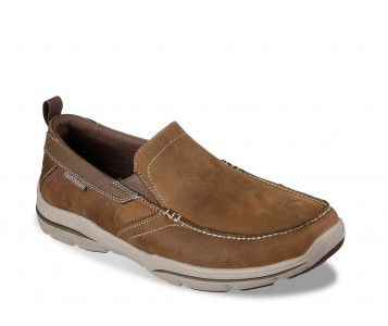 Giày Lười Big Size Skecher Brown