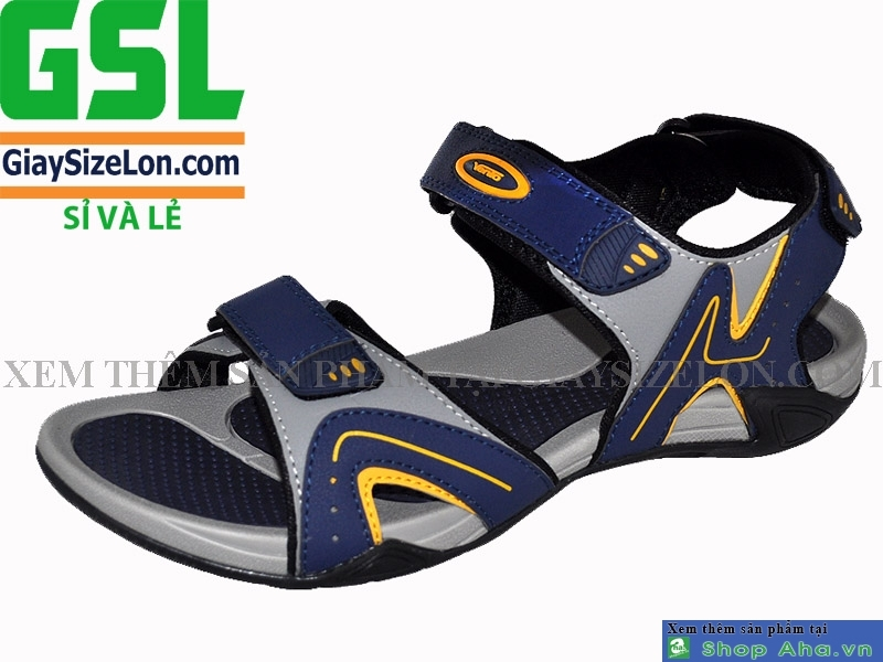 Sandal Xuất Khẩu Size Lớn Navy SSL03