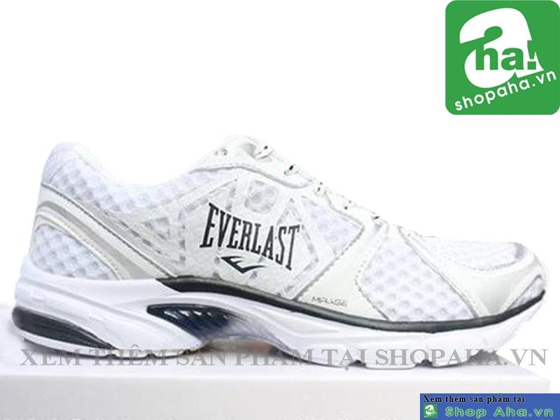 Giày Thể Thao Everlast Trắng Đen ECB01