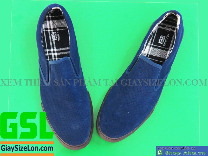 giày size lớn navy