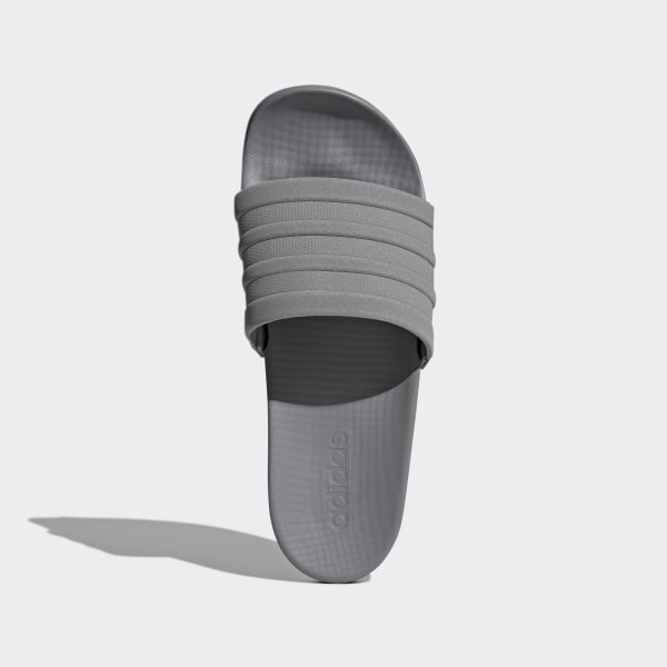 adilette Cloudfoam Plus Mono Slides Grey Three / Grey Three / Grey Three S80977