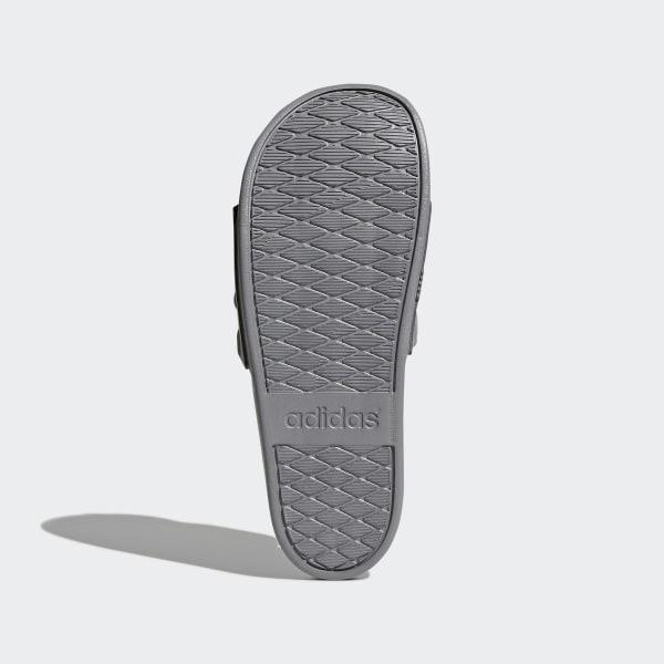 adilette Cloudfoam Plus Mono Slides Grey Three / Grey Three / Grey Three S80977