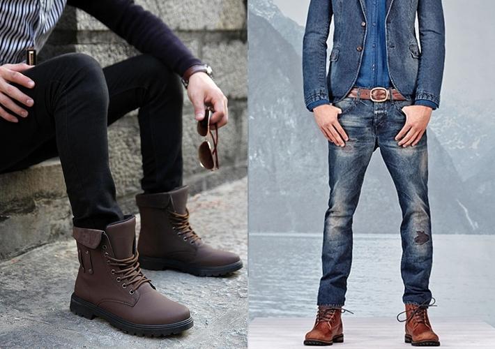 Kết quả hình ảnh cho phối giày cao cổ với quần jean