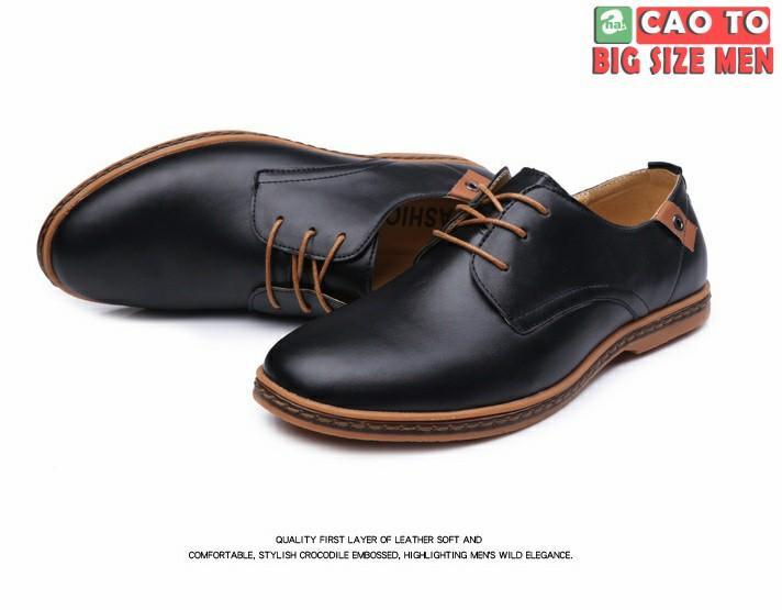 giày tây đi làm big size 44 45 46 47 48
