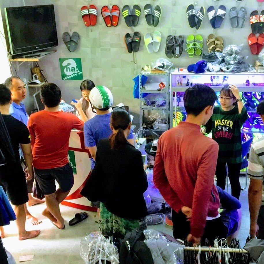 khách hàng shop Aha