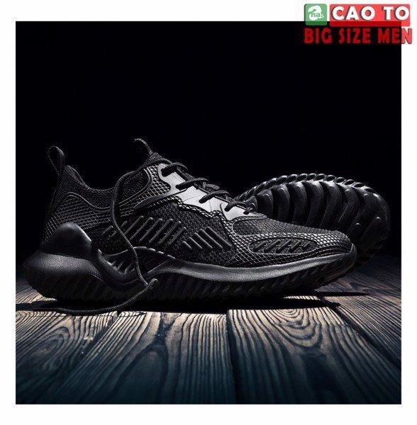 Giày bigsize full đen 48
