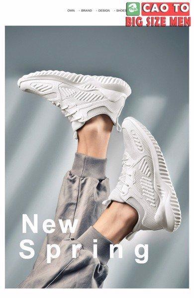 giày full trắng 48