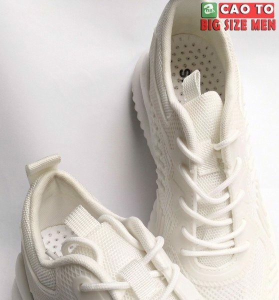 Giày full trắng ngoại cỡ 45