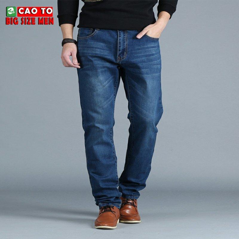 Quần Jean Nam Size Lớn Ngoại Cỡ