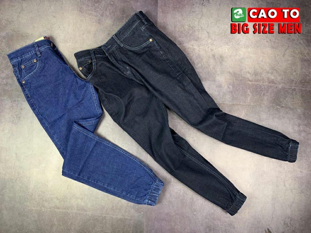 Quần Jogger jeans big size Men