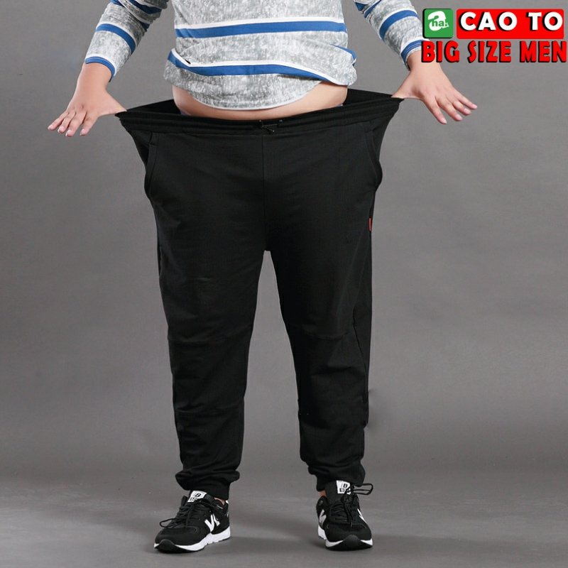 Quần Jogger vải nỉ big size men