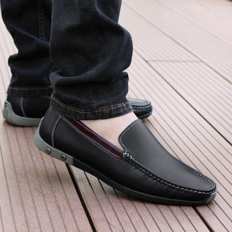 giày tây lười da bò big size
