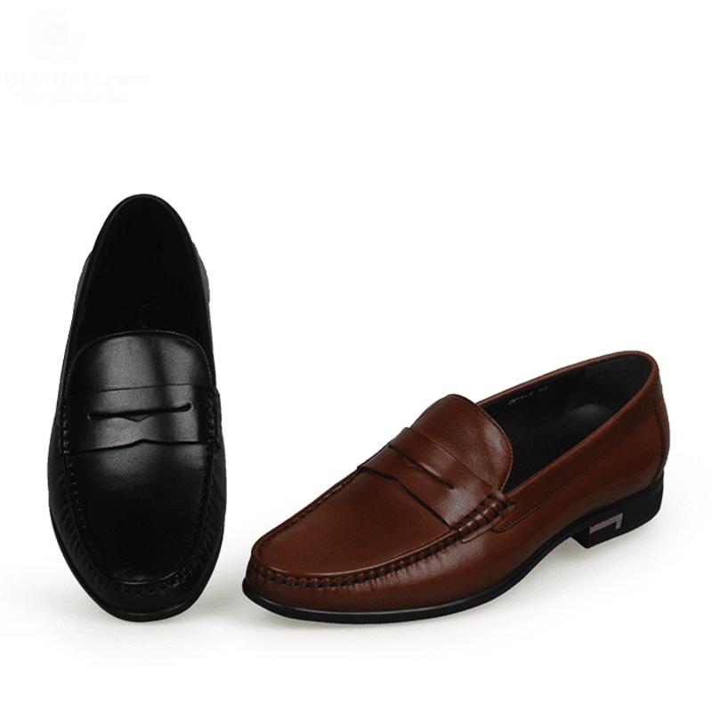 giày lười big size công sở da bò