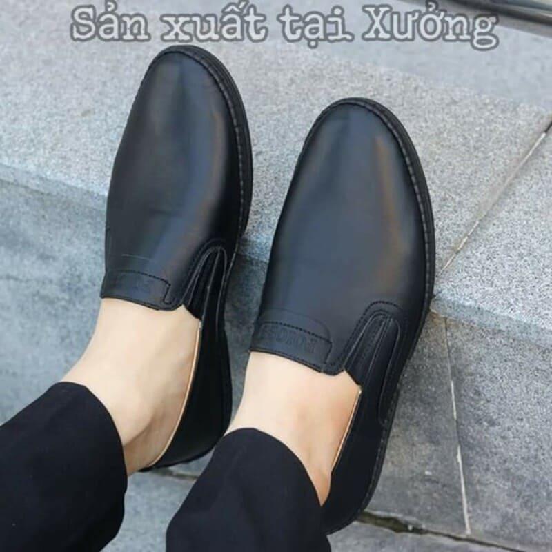 giày tây lười big size da bò