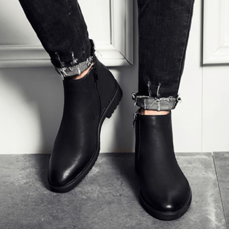 giày tây cổ cao big size