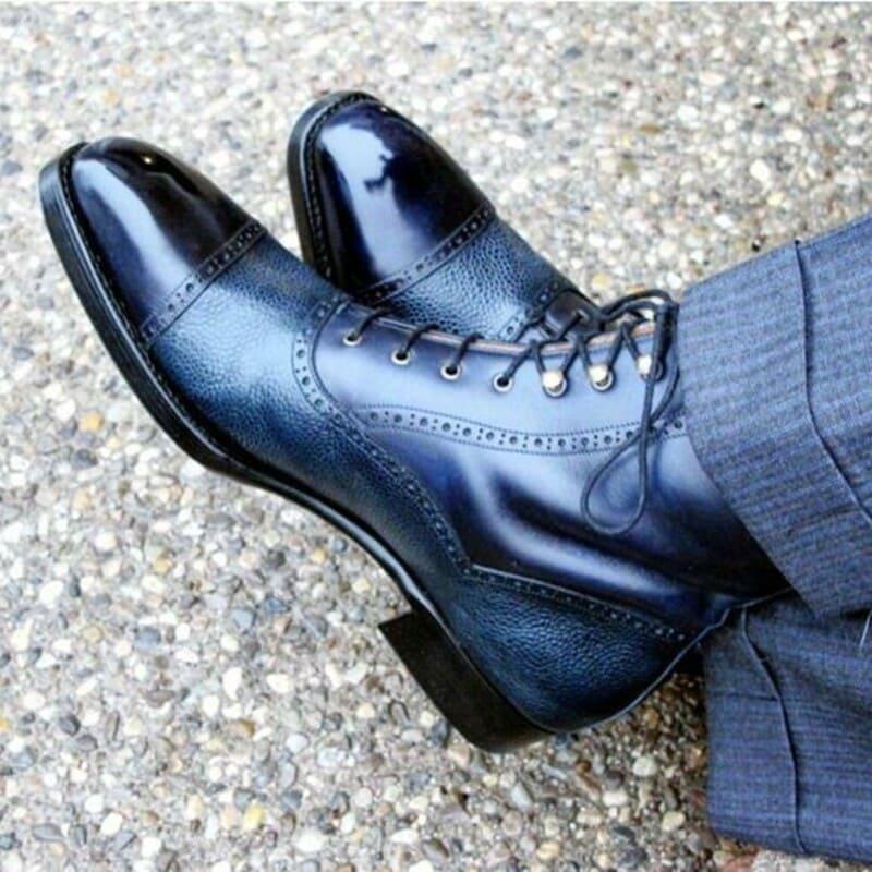 giày tây cao cấp ngoại cỡ
