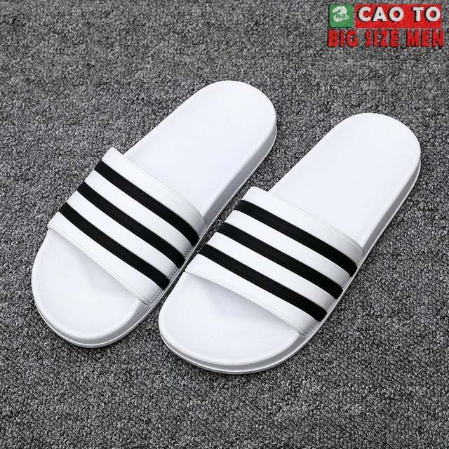 Dép Nam Big Size Adidas Trắng 45 46 47 48