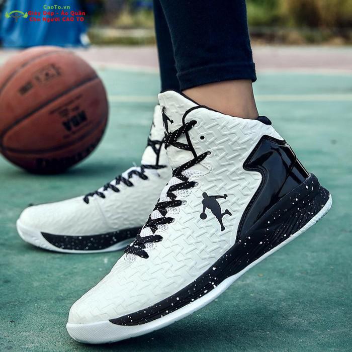 Giày bóng rổ nam trắng 44 45 46 47